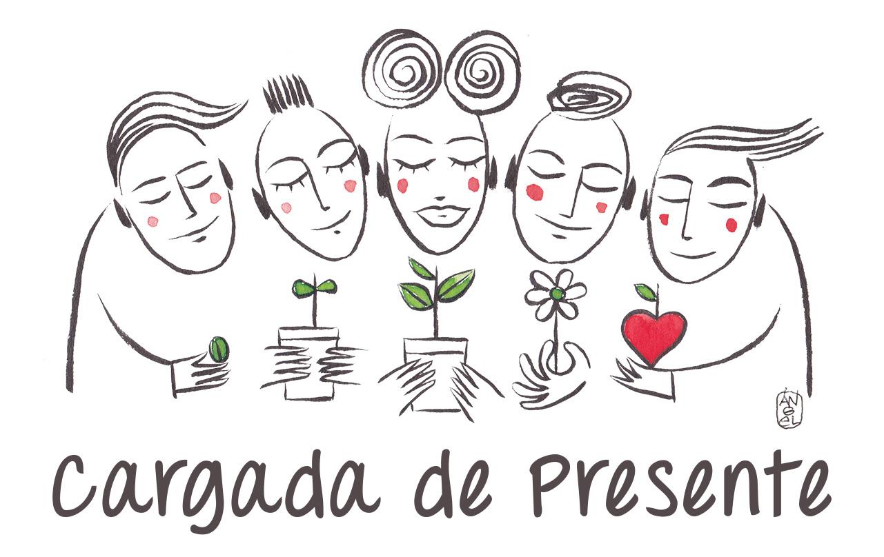 Dibujo original de Ángel Bravo